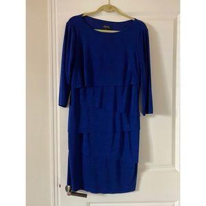Tahari Size 14 3/4 Sleeve Dress